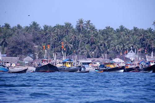 Fishing Trawlers at Sindhudurg