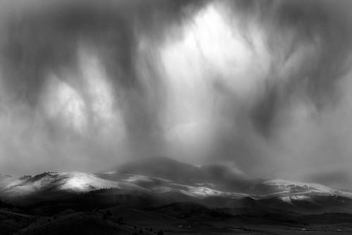 blackandwhite bw snow wow landscape dramatic attitude valley helena ©tylerknottgregson