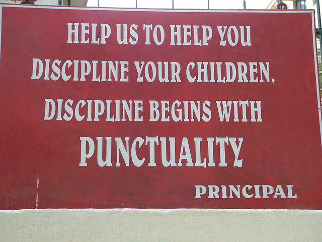 punctuality and discipline Why are the japanese so disciplined update cancel answer wiki  discipline is like a vise that is gradually tightened on them as they grow older and are faced.