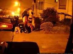 halloween party on the sidewalk   dscf0640