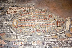 Madaba's Jerusalem Mosaic Map