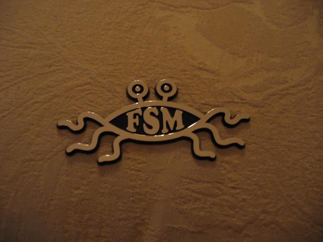 Flying spaghetti monster symbol - photo#24