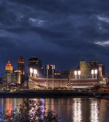 Light up Cincinnati - HDR