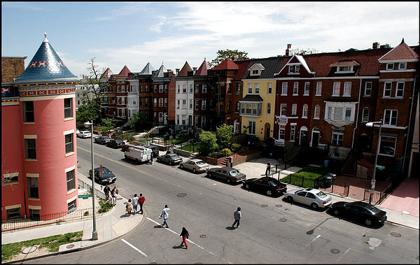 Columbia Heights rowhouses