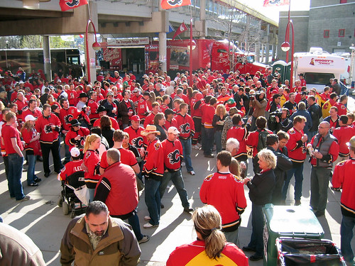 Flames - Game 7 - May 3, 2006