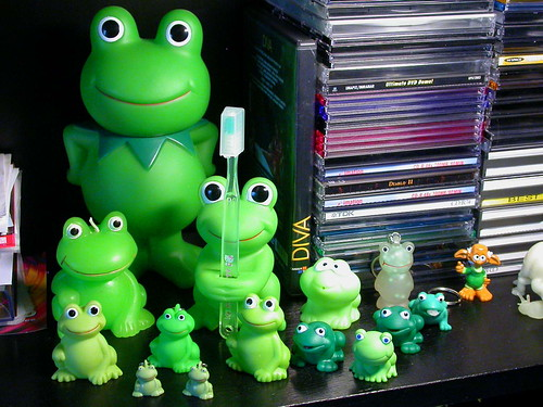 Bunch of frogs !