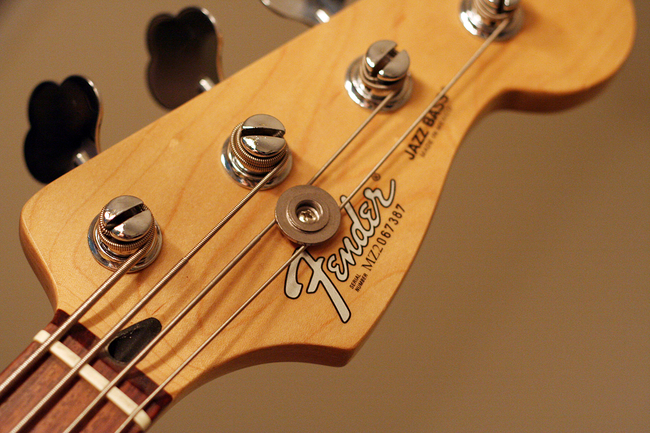 fender jazz bass headstock a photo on flickriver. Black Bedroom Furniture Sets. Home Design Ideas