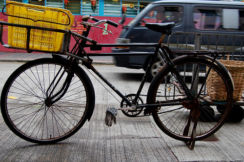hong kong bicycle