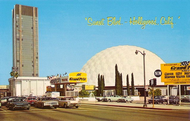 Pacific's Cinerama Theatre, LA CA, 1966