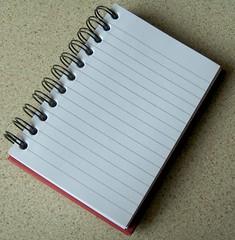 ASDA Notebook - Red Wiro Bound