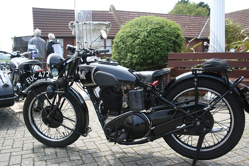 Classic Matchless Motorcycle