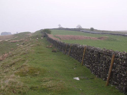 Looking towards Milecastle 33