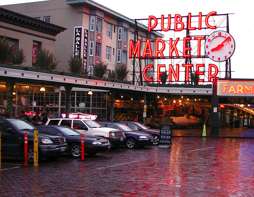 May 19, 2006: Rain in Seattle? No way!