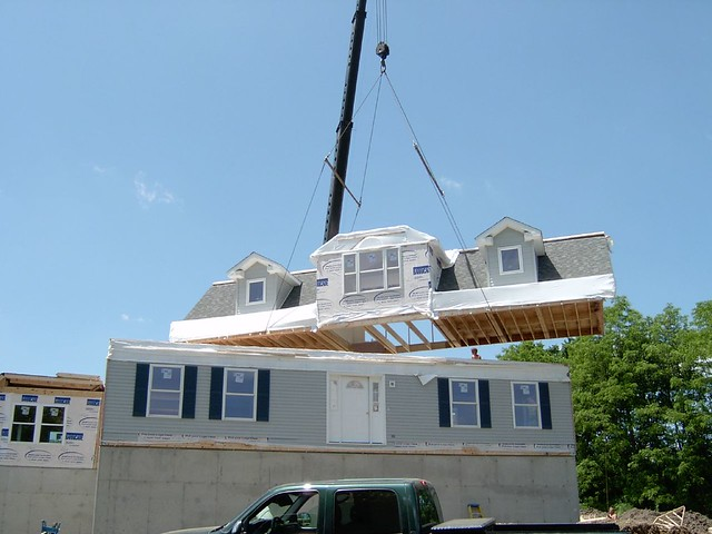 Cape cod modular home set flickr photo sharing for Cape cod modular