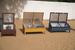 Solar cooker in Ndiaganiao, Senegal