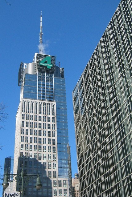 Nyc Times Square Cond 233 Nast Building Flickr Photo