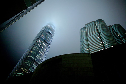 IFC & Exchange Square v The Fog