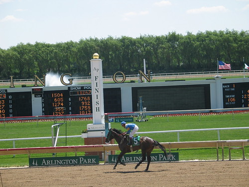 Arlington Park: End of Race 1