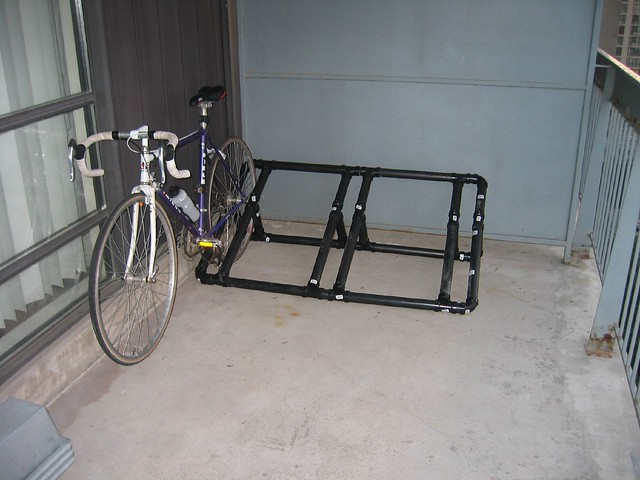 My New PVC Bike Rack | Flickr - Photo Sharing!
