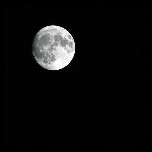 Moon over Hawaii