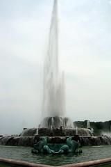 Chicago - Grant Park: Clarence Buckingham Memorial Fountain and Garden