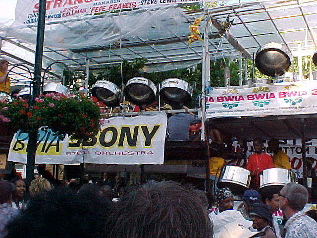 Notting Hill Carnival Steel Pan Float - London