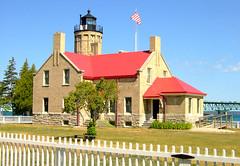 Old Mackinac Point Light