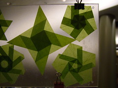 Paper Nyc 39 Photos | Roberto Gretter's glassine (Pergamyn) geometry tests | 179