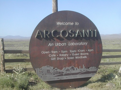 Arcosanti Welcome Sign | by RileyOne