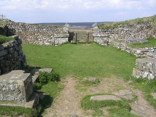 The gateways of Milecastle 37