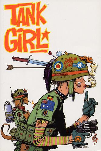 Tank Girl cover
