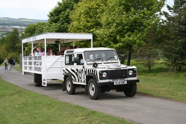 Jeep Safari At Edinburgh Zoo From The Www