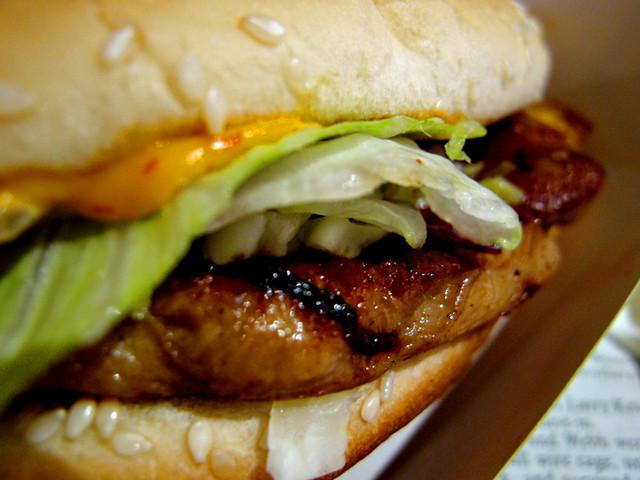 McDonalds Grilled Chicken Burger | Flickr - Photo Sharing!