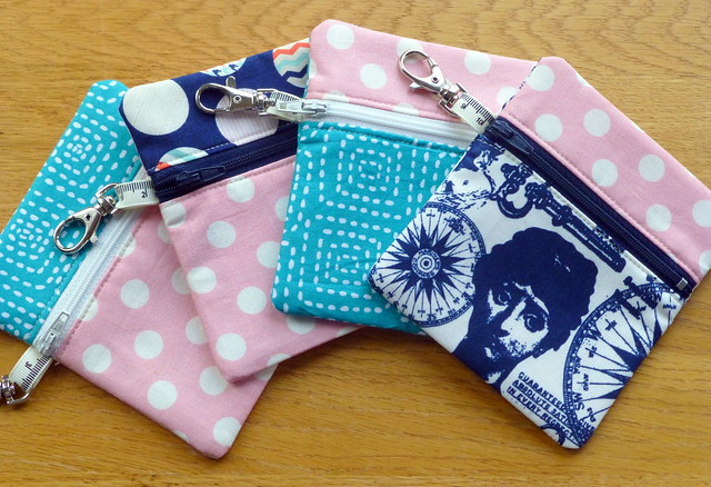 Coin Purses - Fabric Yard Tutorial
