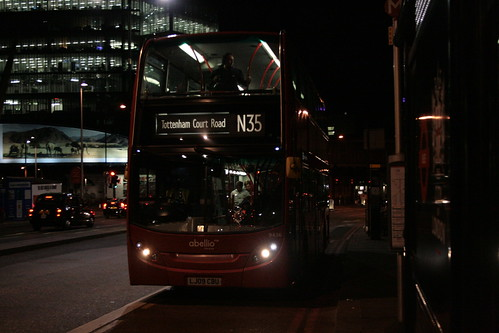Abellio London 9436 on Route N35, London Bridge