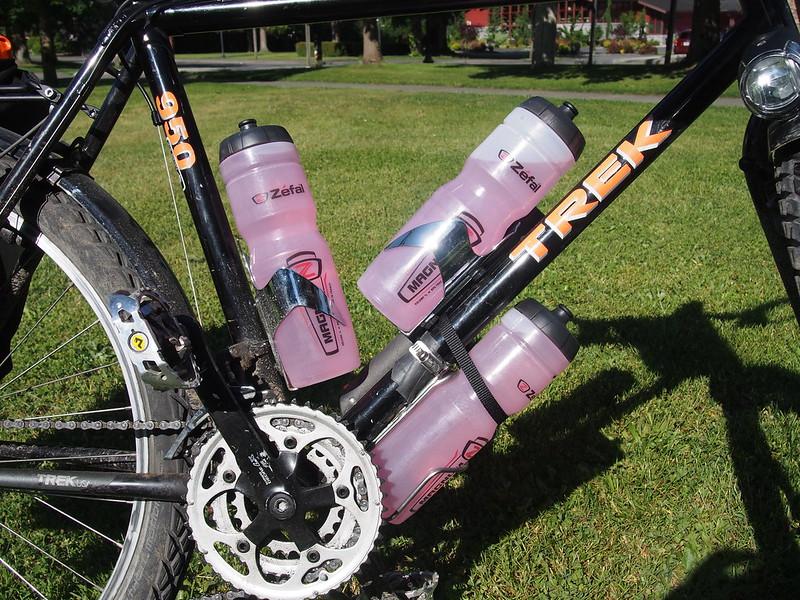 Extreme Thirst!: 3 1L bottles.