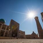 Landmarks in Uzbekistan