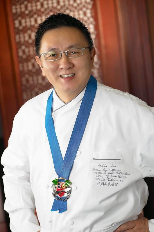 Master Chef Eddie Liu