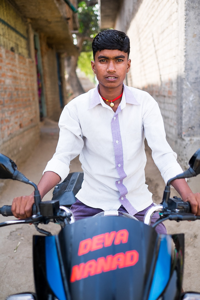 Biker Portrait 3