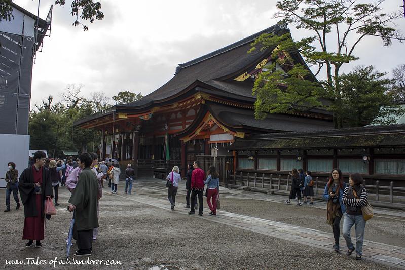京都 KYŌTO - 円山公園 Maruyama-kōen / 八坂神社 Yasaka-jinja