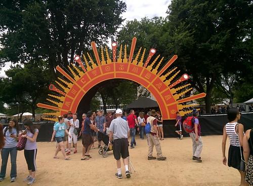 2015 Smithsonian Folklife Festival #throughglass