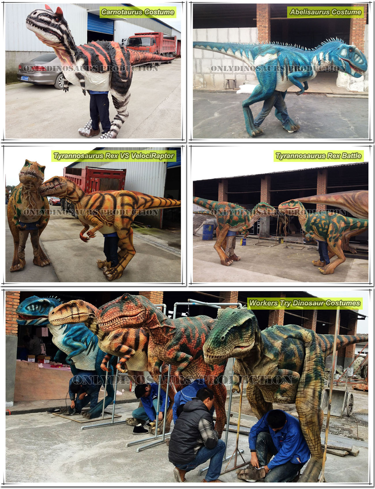 Try Dinosaur Costumes