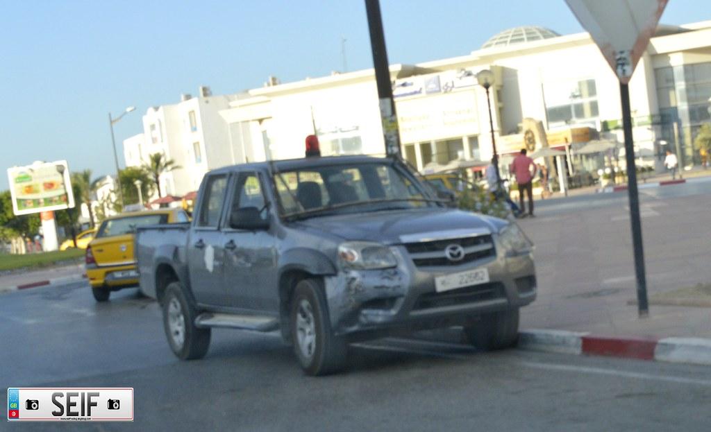 Mazda BT 50 Tunisia 2015