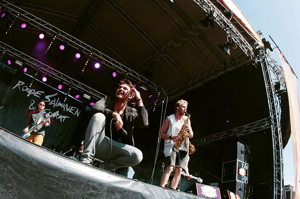 Roope Salminen & Koirat @ Ruisrock 2015