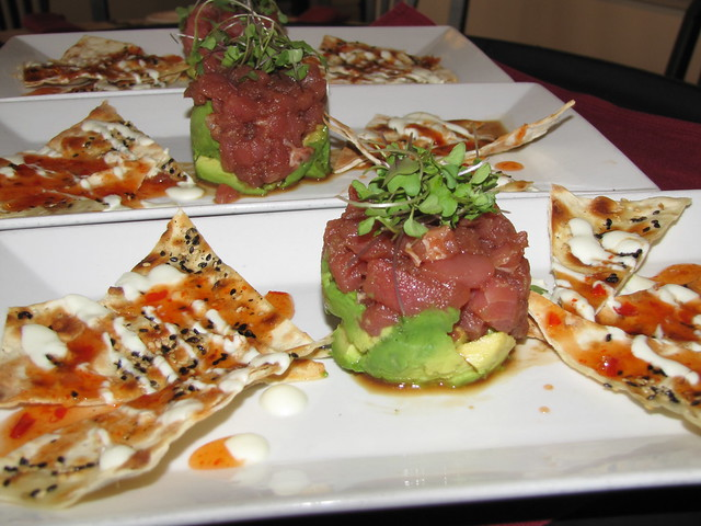 Hawaiian Tuna Tartare at Anton & Michel