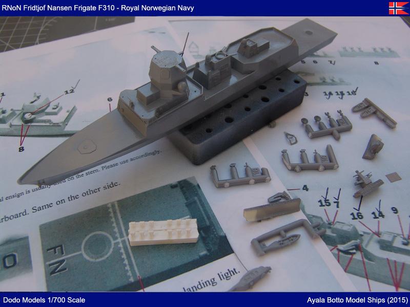 Frégate HNoMS Fridtjof Nansen F310, Dodo Models 1/700 19449688528_2237e6914d_o