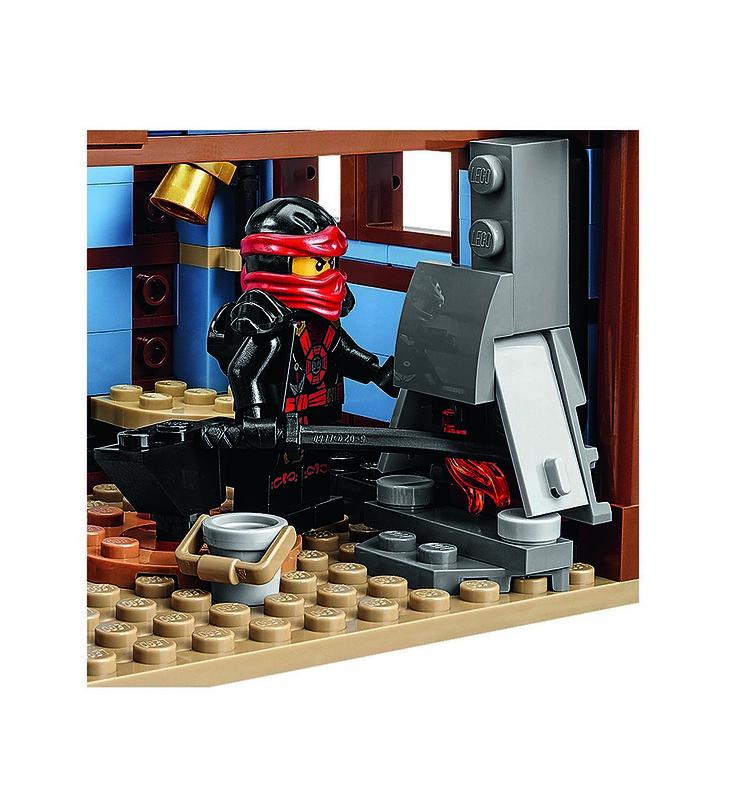 LEGO Ninjago 70751 - Mini w fire