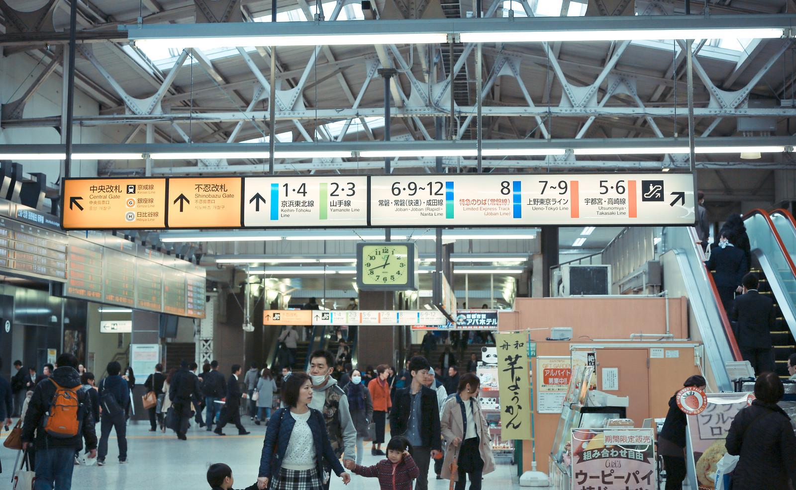 JR 上野駅 Ueno Station