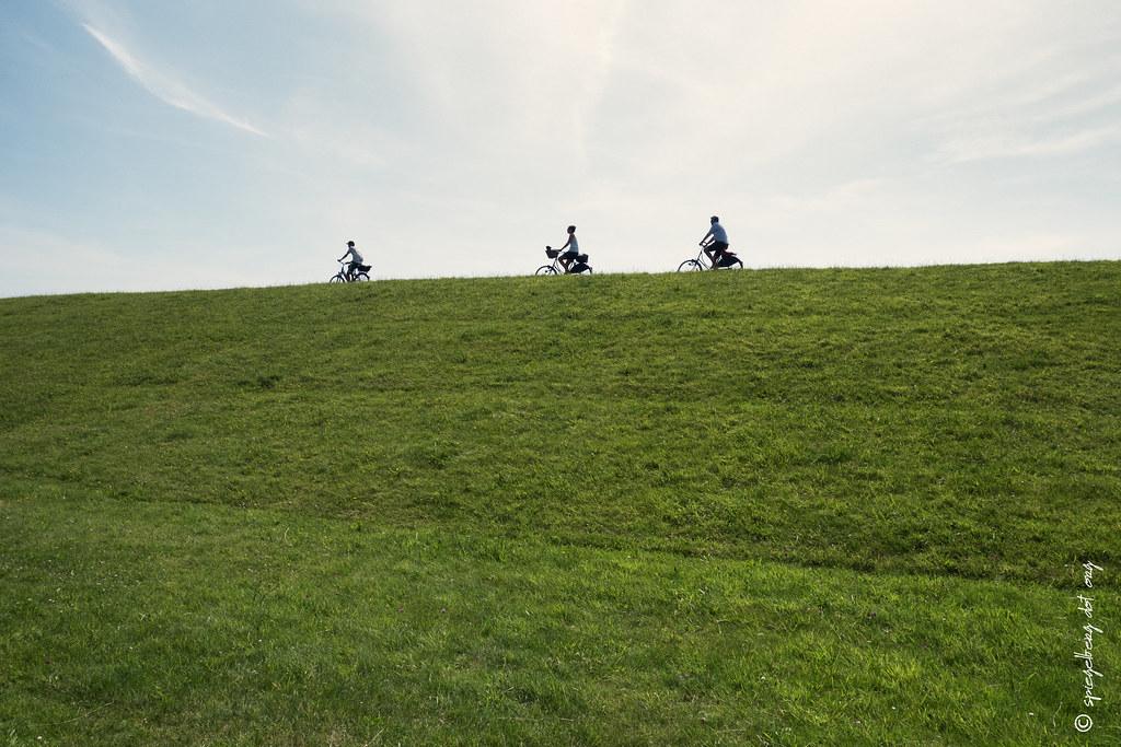 Graslandschaftsradler