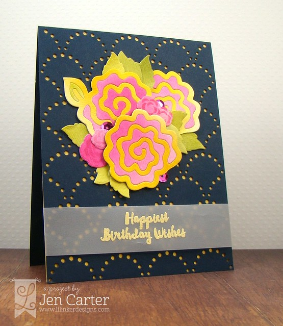 Jen Carter Navy Quilted Flowers Bday Side 1.2 wm